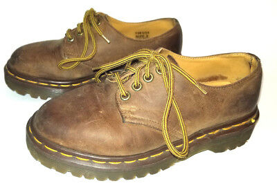 Vintage The Original Dr. Martens 1561/59 Brown Leather Oxford Shoes size US 3