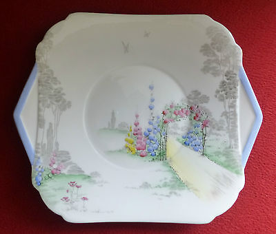 Vintage SHELLEY Archway of Roses - Cake Plate