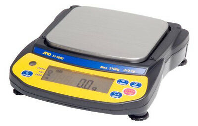 AND Weighing EJ-6100 NEWTON SERIES Compact Balances 6100g x 0.1g