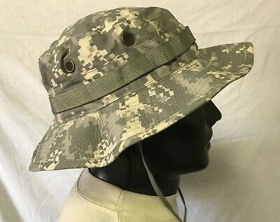 50684d798b0 NEW USGI BERNARD Cap Co. 6 Color Choc. Chip Desert Storm Boonie Hat ...