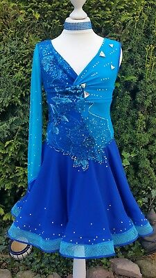 Latein- Kleid /lateinamerikanisches Turnierkleid, Salsa, Tanzkleid, Ballroom