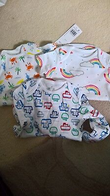 Brand New with Tags Bundle of Vests age 3-6 months by F&F Baby at Tesco
