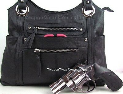 40cabf15030 Concealment Purse Black FREE GIFT Concealed Carry Holster Gun Conceal Purse   8
