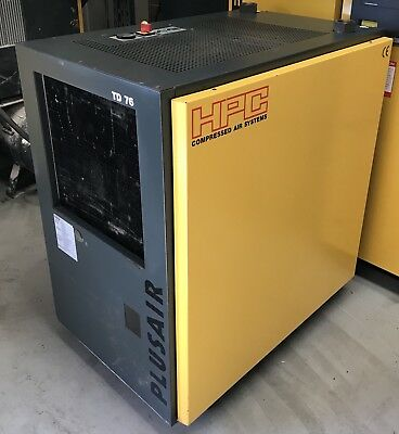 HPC / Kaeser TD76 Refrigerant Compressed Air Dryer, Great Condition 291CFM!