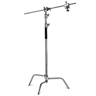 Neewer Pro 100% Metal Max Height 10ft/305cm EXTRA C STAND BASE WHEEEL  DOLLY BAS