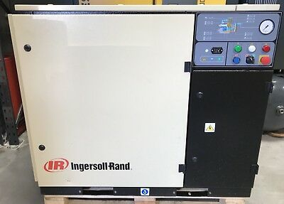 Ingersoll-Rand UP5-18-8.5 Rotary Screw Compressor, 18.5Kw, 101CFM, Immaculate!