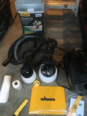 wagner paint sprayer with accessories etc