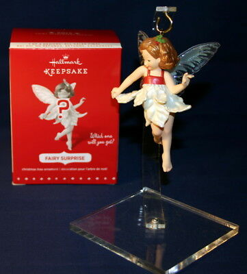 Hallmark Ornament 2015  Fairy Surprise Red Compliments The Fairy Messengers