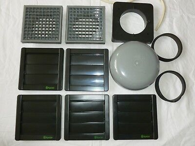 Extract Fan Grills Job Lot
