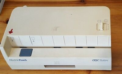 GBC Bates 32-30 Electric Hole Punch Industrial Works