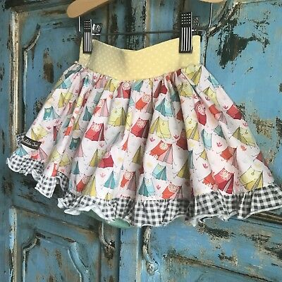 Matilda Jane 12m Flare Skirt Multi Color Will Match With Any Top