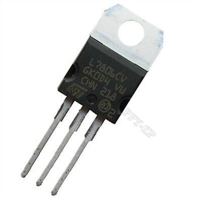 10Pcs Régulateur De Tension L7806CV L7806 LM7806 St TO-220 6V 1.5A as