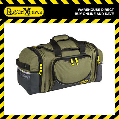 Rugged Xtremes SMALL Transit Bag Canvas Equipment Gear Storage Luggage Extreme