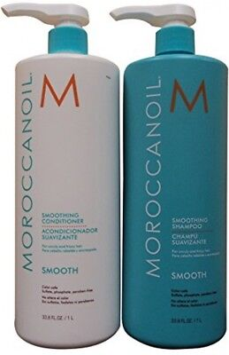 Moroccanoil Smooth Shampoo And Conditioner (33.8 Fl. Oz Each)