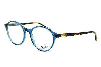 90349a46e4 New Ray-Ban Rb 7118 8022 Blue Havana Eyeglasses Authentic Frame Rx Rb7118  50-