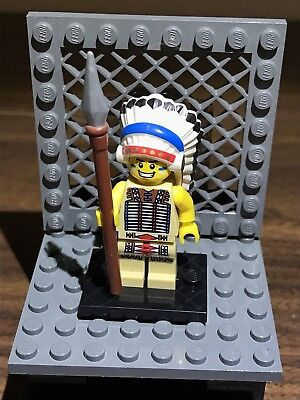 Lego tribal chief series 3 unopened new factory sealed