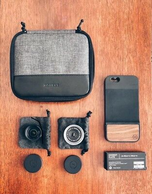 Moment Bundle  Iphone 6/6s Case Macro & Wise Lens Travel Case & Mounting Plates