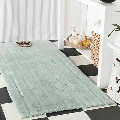 Safavieh Plush Master Cotton Bath Area Rugs Bathroom Shower Set Of 2