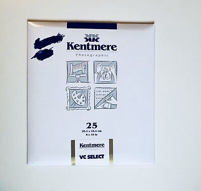 Kentmere VC Select RC Photographic Paper 8x10 25 Sheets