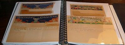 37 Late 19th Century to 1940s Western Union Holiday Birthday Telegrams