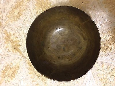 Chinese Bronze or Brass Bowl- Marked