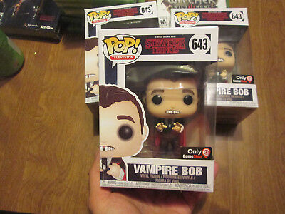 Funko Pop Netflix Series Stranger Things Vampire Bob # 643 Exclusive Gamestop