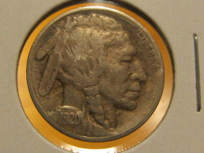 Scarce XF 1920-S Buffalo nickel ... tough to find ( bvag )