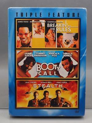Breakin' All The Rules Booty Call Stealth Triple Feature DVD js