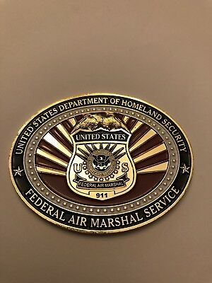 U S Federal Air Marshal Challenge Coin