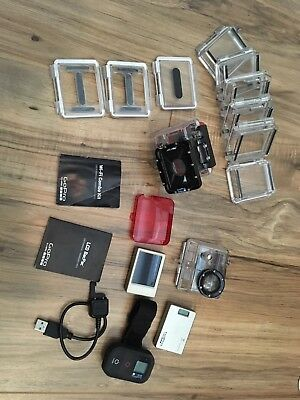 Gopro Hero 2 accessories, LCD backpack, wifi backpack, dive housing, red filter