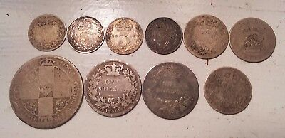 Great Britain .925 Silver Coin Lot