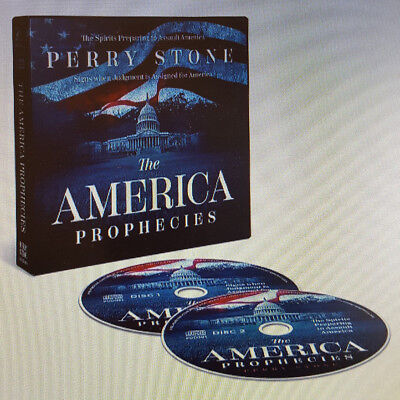 """PERRY STONE-""""The American Prophecies """"-2 CD's"""