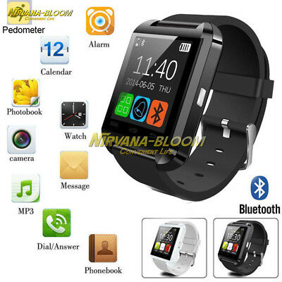 Bluetooth Smart Wrist Watch Phone Mate For IOS/Android iPhone Samsung HTC LG NEW