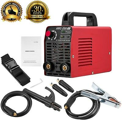 Arc Welder 110V 200Amp Welding Machine IGBT Inverter AC-DC Mini Electric Free