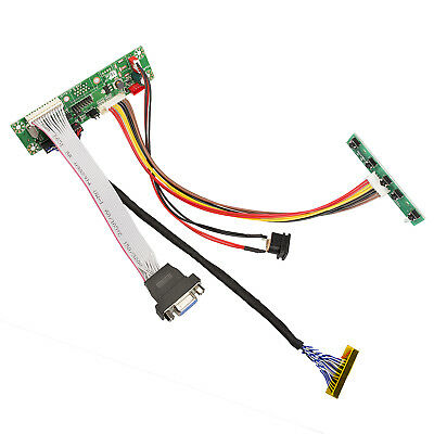 "Universal LCD LVDS VGA Monitor Controller Driver Board Kit 1900x1200 12"" to 42"""