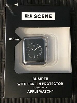 End Scene Apple Watch Bumper With Screen Protector 38mm