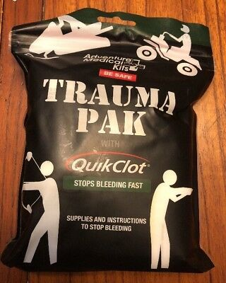 Adventure Medical 2064-0292 Trauma Pak Kit with QuikClot - Stop Bleeding