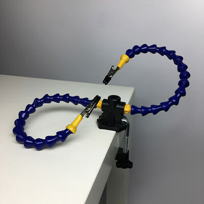 PCB Board Repare Tool with Two Nylon Arms Tool Helping Hands Soldering