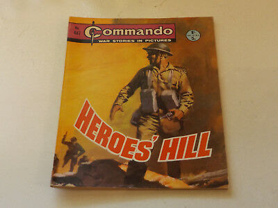Commando War Comic Number 487,1970 Issue,v Good For Age,48 Years Old,very Rare.