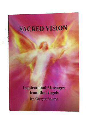SACRED VISION Angel Guidance Book -82 Stunning Angel Paintings by Glenyss Bourne