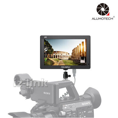 "FH7 FULL HD 4K 7"" IPS1920X1200 HDMI Wider View Angle 160° On Camera Monitor DSLR"
