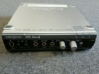 Creative Technology Sound Blaster Audigy 4 with cable and Sound Card