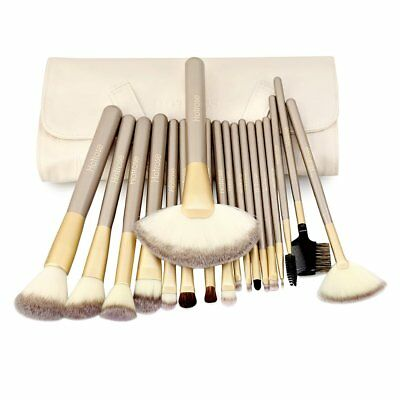 18 Pcs Professional Makeup Brush Cosmetic Brushed Eyeshadow Soft Tool+ Pouch Bag