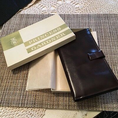 Vintage Princess Gardner Passport Holder/Wallet, Never used in original box