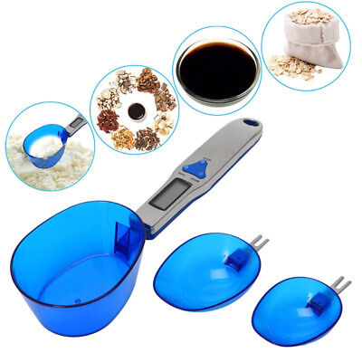 Kitchen Measuring Digital Electronic Scale With 3 Detachable Weighing Spoons N