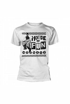 c54e0a06 Official MADNESS Baggy House Of Fun T Shirt White Band Tee Ska Mod Fashion  60s