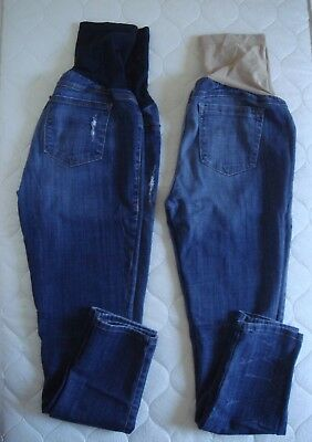 A Pea in the Pod Ankle Maternity Skinny Jeans Size 29 Lot of 2