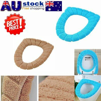 Bathroom Seats Warmer Toilet Seat Cloth Soft Cushion Lid Cover Pad Closestool