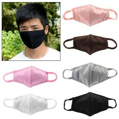 Fashion Unisex Health Cycling Anti-Dust Cotton Mouth Face Mask Protect Washable