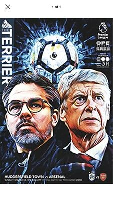 HUDDERSFIELD TOWN v ARSENAL 13/5/2018 OFFICIAL PROGRAMME  ( 50p POSTAGE )